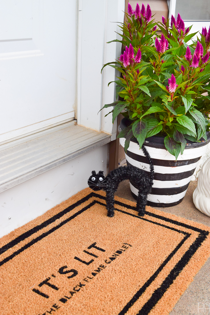Americana Decor Outdoor Living Paint DIY Halloween Doormat