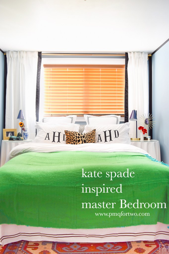 Kate Spade Inspired Master Bedroom • PMQ for two