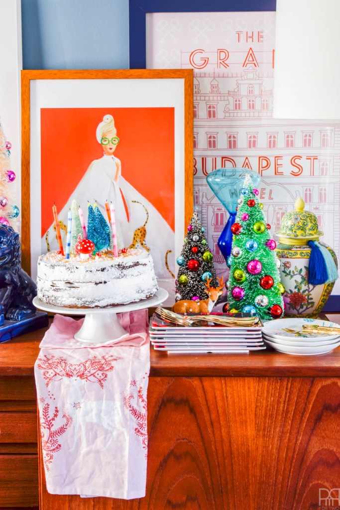 Colourful & Curated Christmas Tablescape