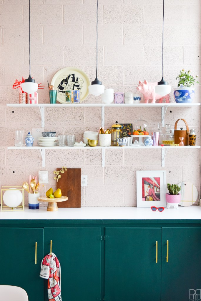 The Studio's Eclectic & Bold Kitchen