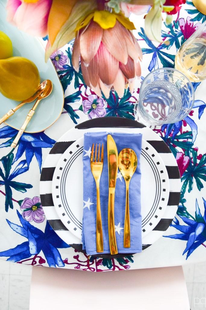 A Romantic Tablescape – My Blue Valentine