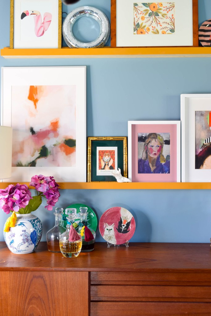 DIY Picture Rail Update In The Dining Room