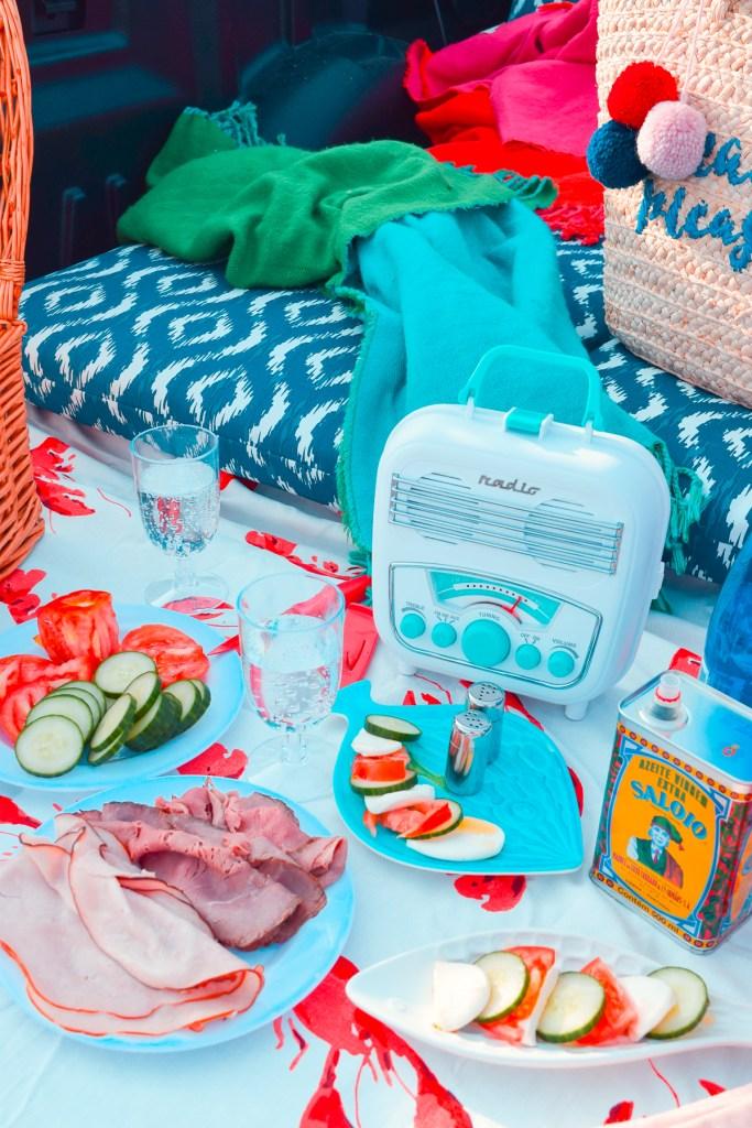 keto picnic spread