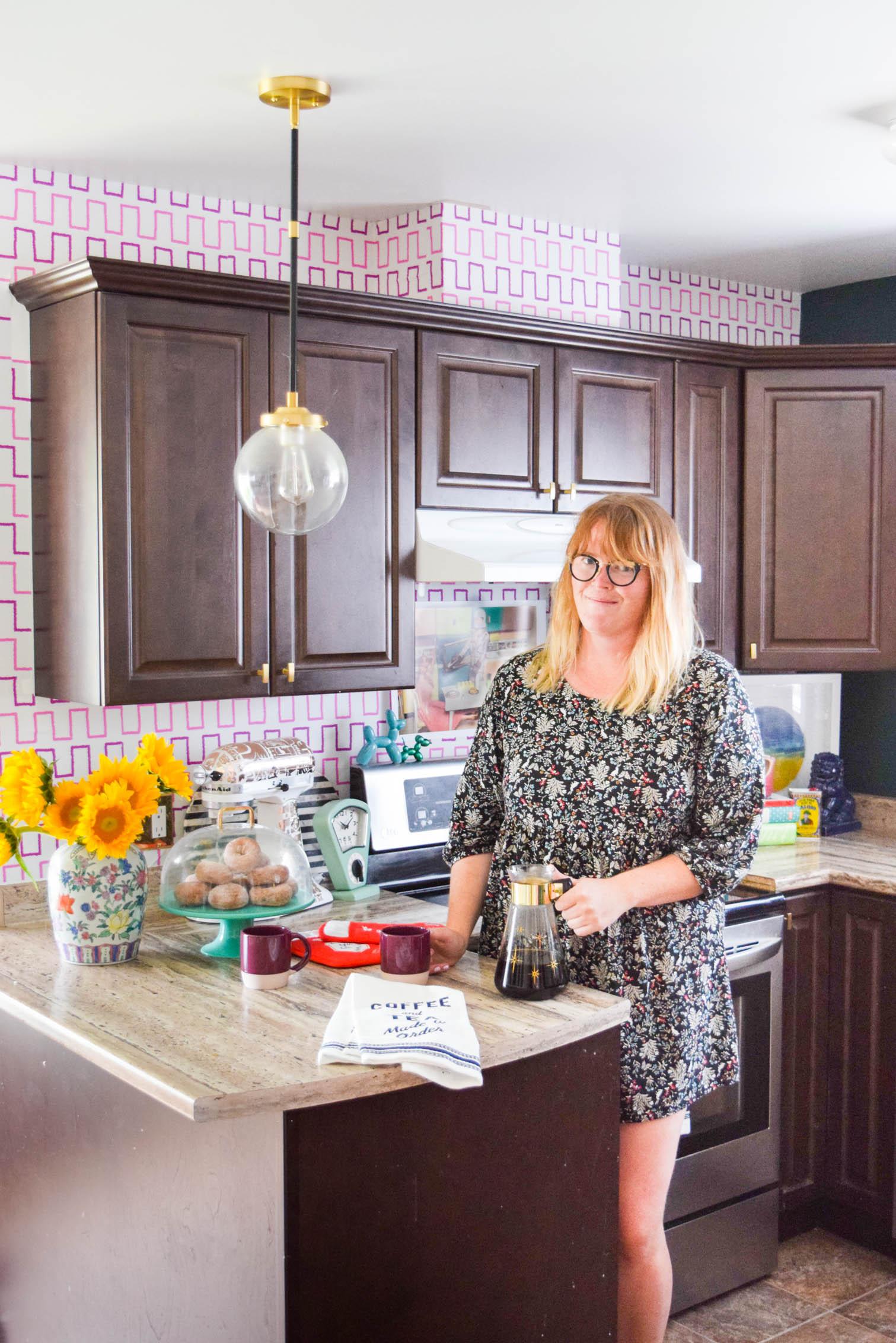 Removable Kitchen Wallpaper Backsplash • PMQ for two