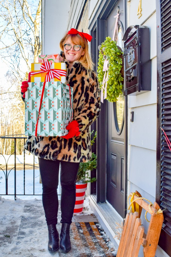 Classic & Colourful Holiday Porch Makeover