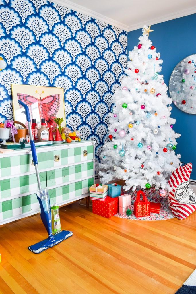 Christmas Party Prep with Bona