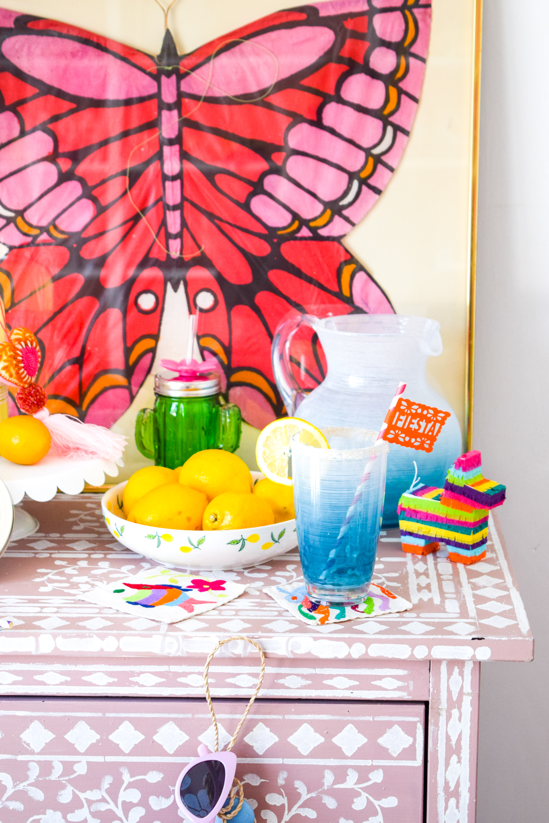 4 Ways To Style Your Bar For Spring - and they all involve Stirrings' line of cocktail mixes, rimmers, and bar essentials! Come see how they fit for every occasion between now and Summer, including Easter & Cinco de Mayo.