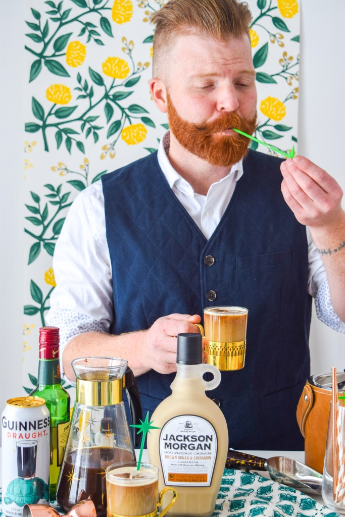 Whiskey Cream Cold Brew Coffee Cocktail