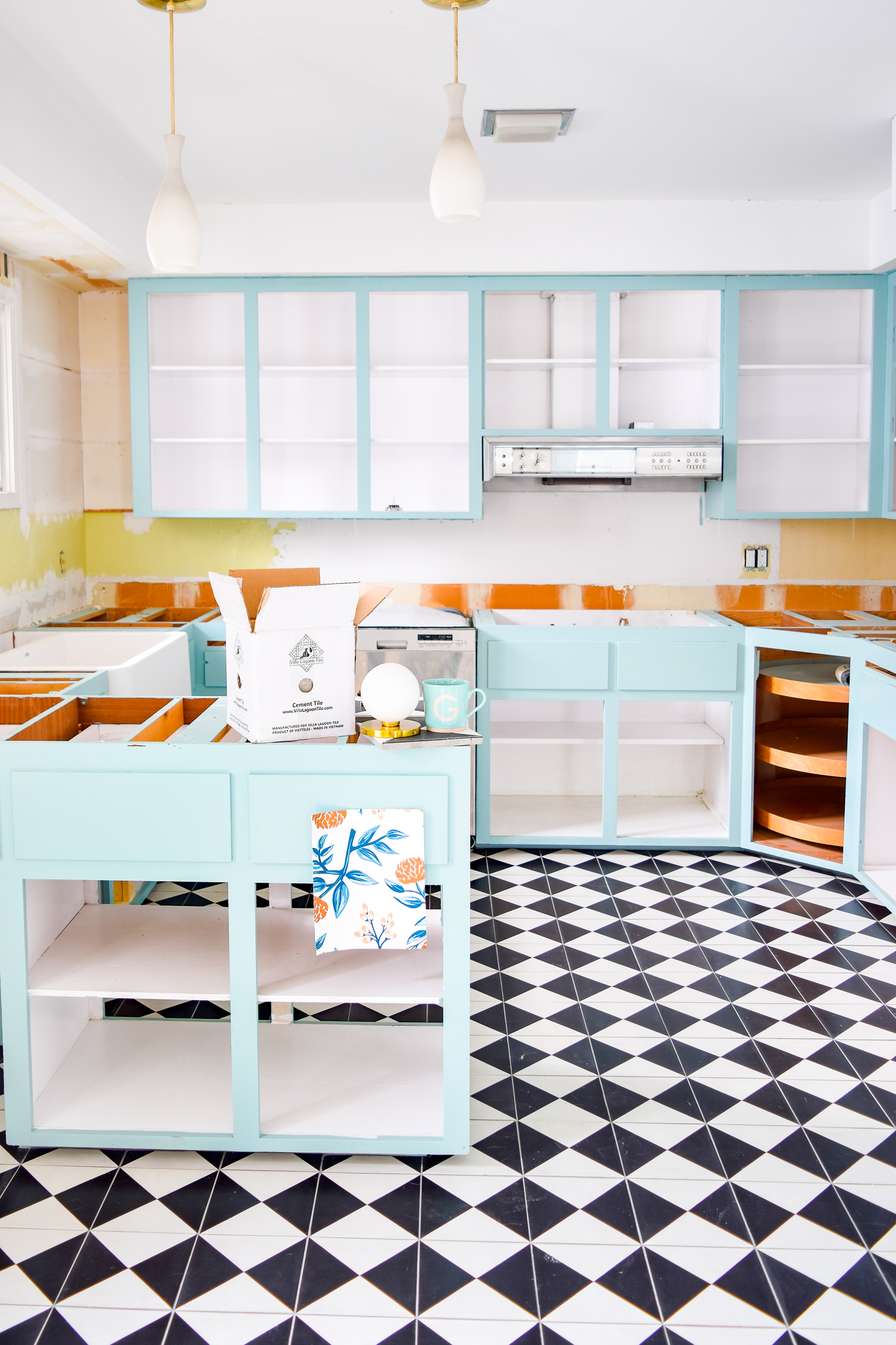 choosing a retro kitchen floor tile