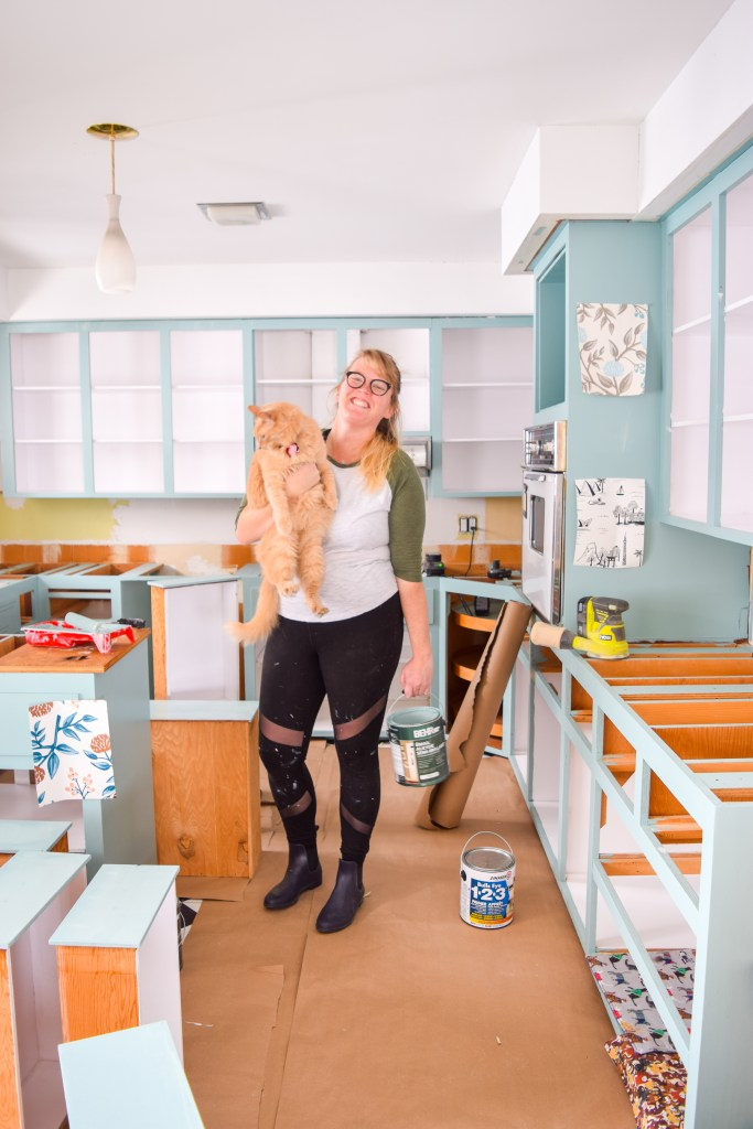 How To Paint Your Plywood Kitchen Cabinets