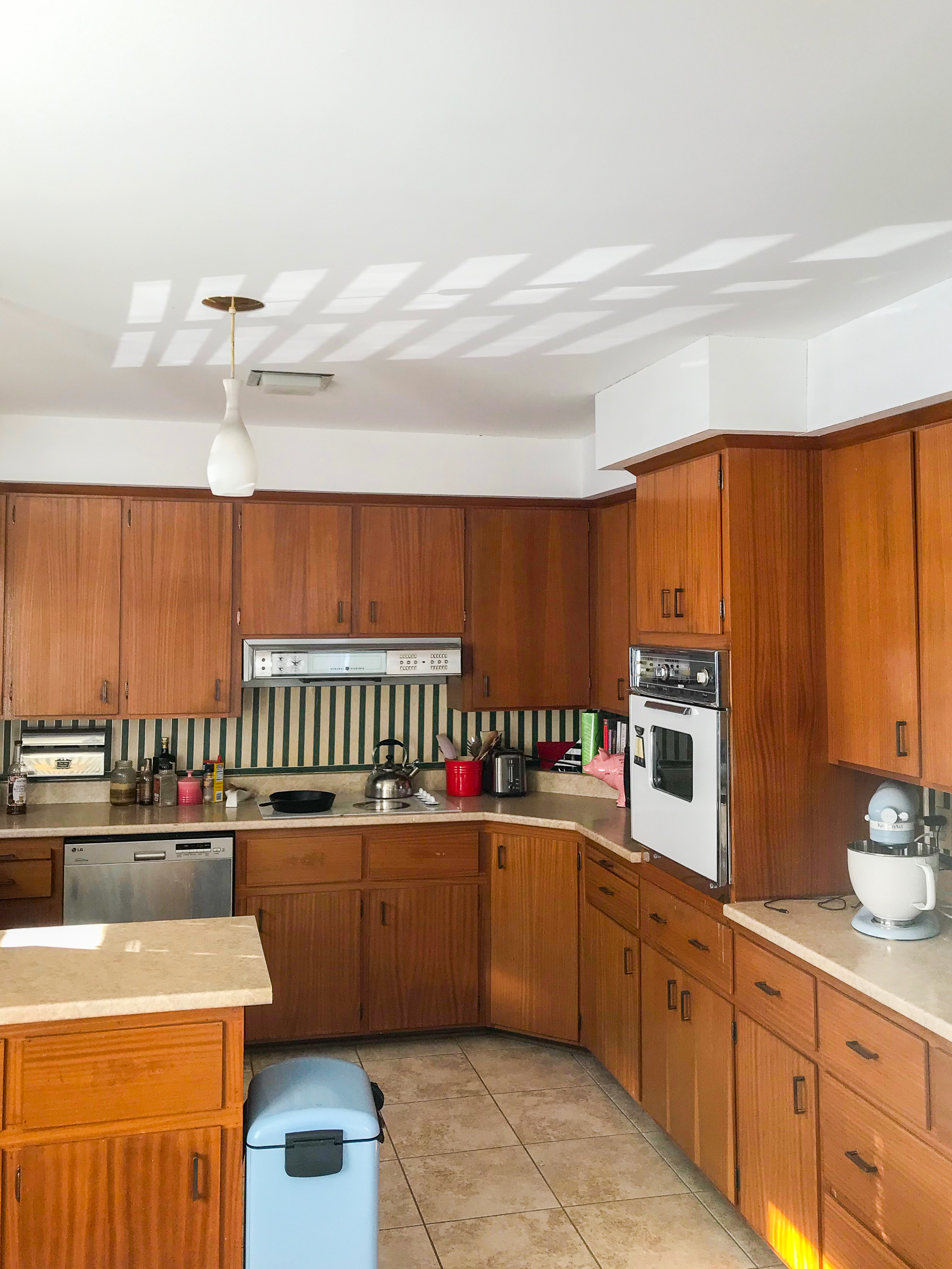 For the spring 2019 edition of the ORC, we're sharing our retro glam kitchen renovation plans - everything from checkerboard floors, to countertops and more.