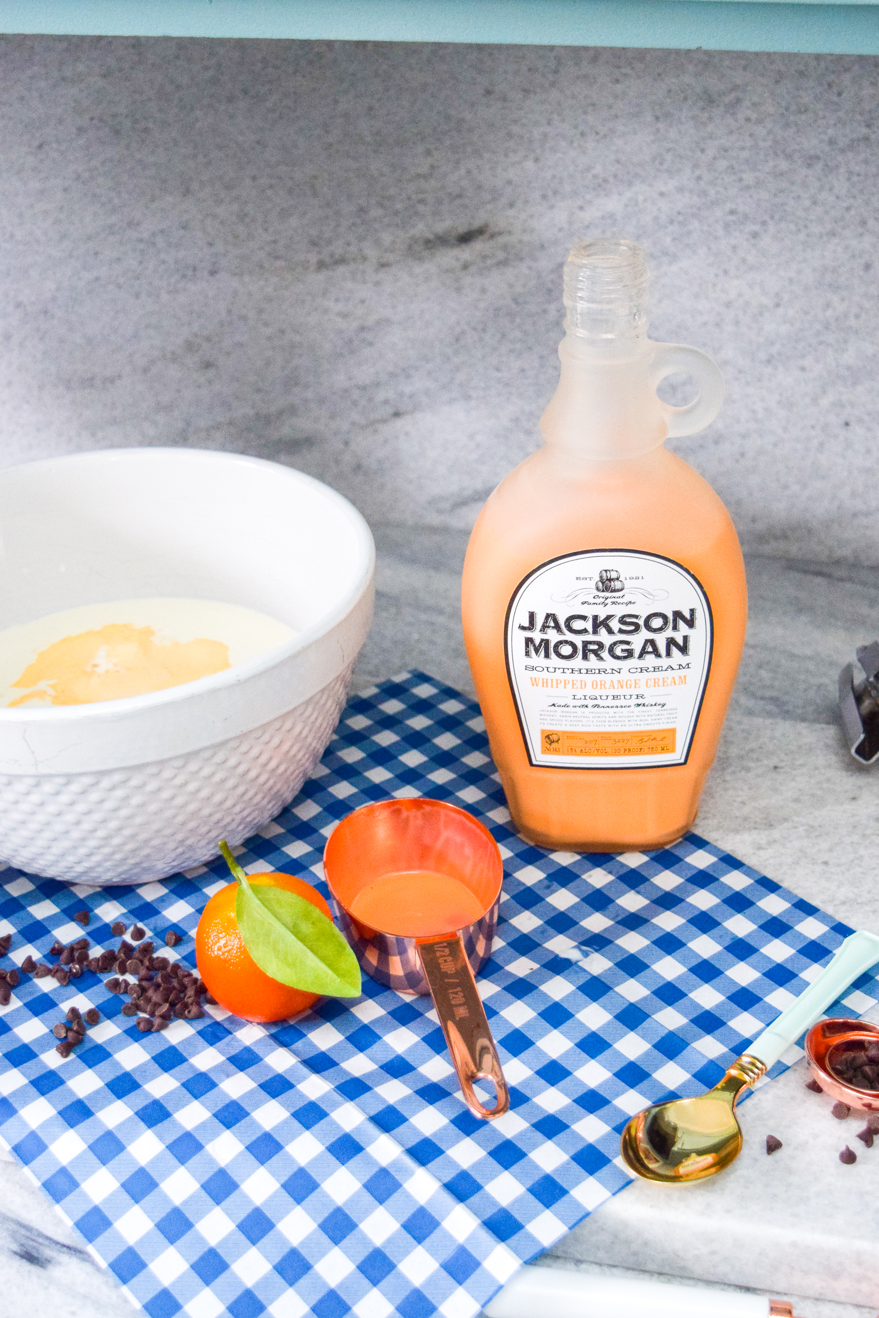 Whipped orange ice cream sandwiches are the treat you didn't know you needed! Make 'em at home, stuff 'em with what you want, or just eat the ice cream! Best part, they're made using Jackson Morgan's Orange Whipped Cream.