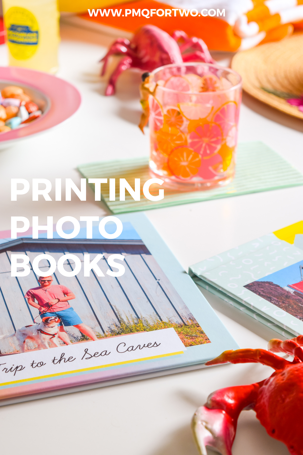 printing photo books is so retro, it's in! I used Mixbook to print out collections from our summer travels last year, and couldn't be happier with the results!