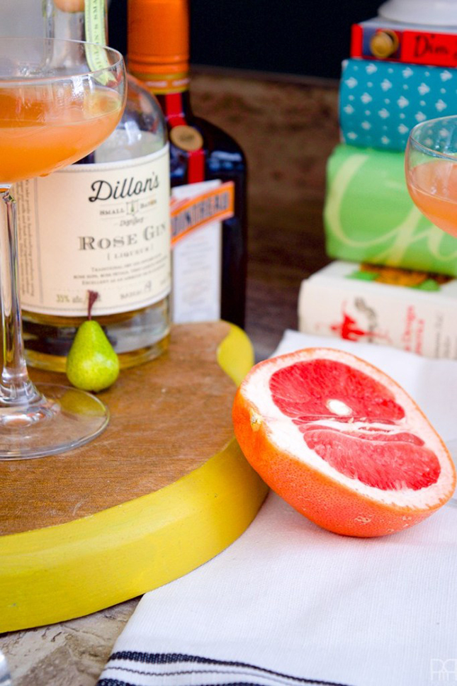 Grapefruit, Gin & Cointreau Cocktail by PMQ for two