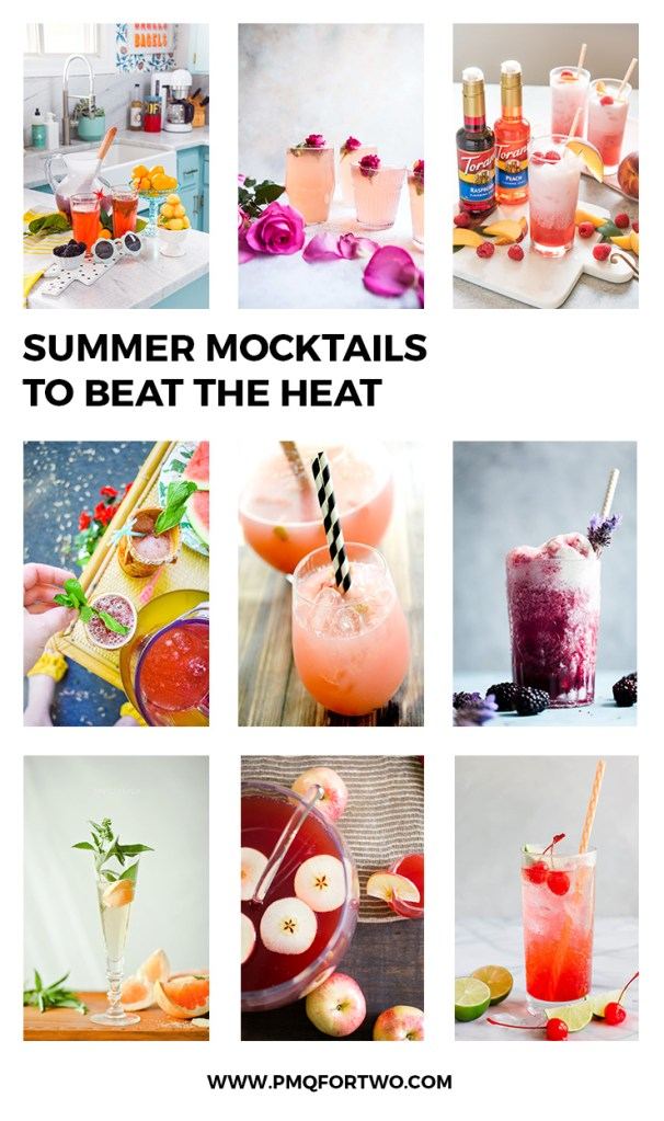 Summer Mocktail Recipes To Beat The Heat