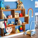 Diy Mid Century Modern Montessori Toy Shelf Pmq For Two