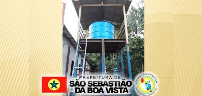 Solução alternativa coletiva simplificada de tratamento de água para os ribeirinhos do município de São Sebastião da Boa Vista
