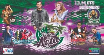 XXX FESTIVAL DO AÇAÍ DE SSBV (13 a 15 de set.)
