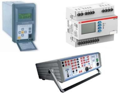 Cassetta prova a relè sistemi di protezione interfaccia SPI