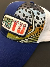 One of several hats up for auction at the 2018 First Brown Bash.