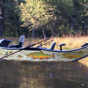Congratulations to the winner of our 2021 drift boat raffle