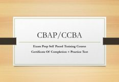 CBAP & CCBA Training course