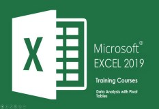 MS.EXCEL 2019 Data Analysis with Pivot Tables Training Classes