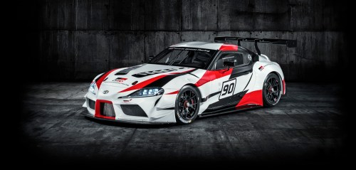small resolution of toyota gr unveils the two door supra racing