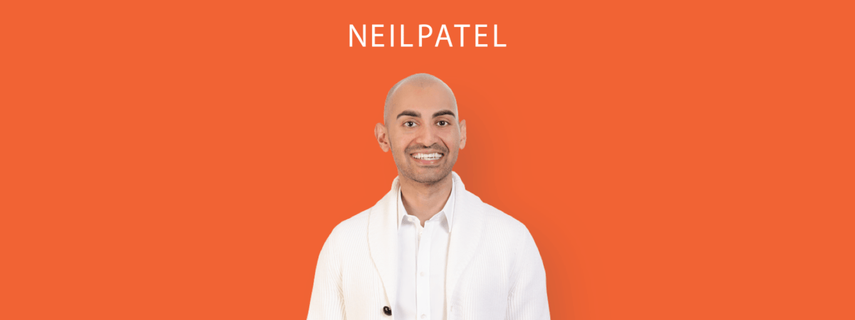 Marketing analytics: You need Neil Patel on your team
