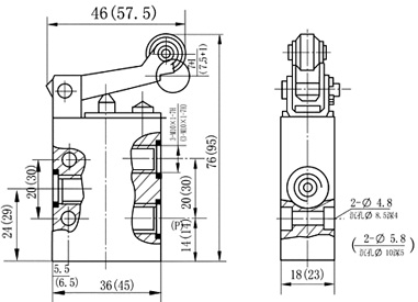 3/2 way,Mechanical Pneumatic Manual Valves 1/8