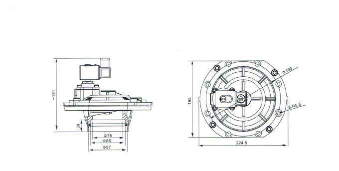 G3 Inch Aluminum Alloy Solenoid Valve SCXE353.060 ASCO 3