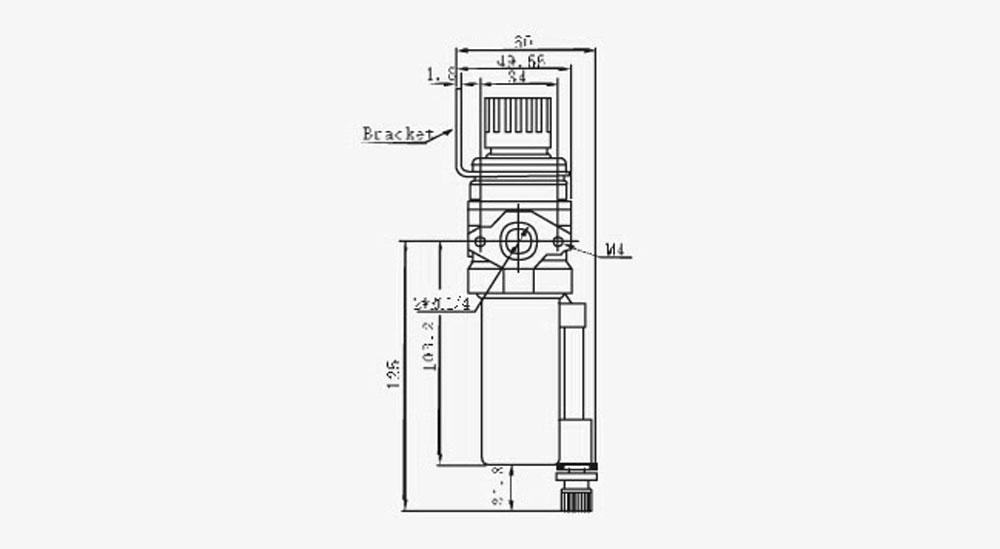 Filter+ Regulator NFR Series, Pneumatic Filter Regulator