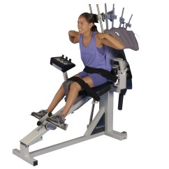 Chair Gym Weight Loss Desk Swivel No Wheels Pneumex Equipment And Programs Sandpoint Id
