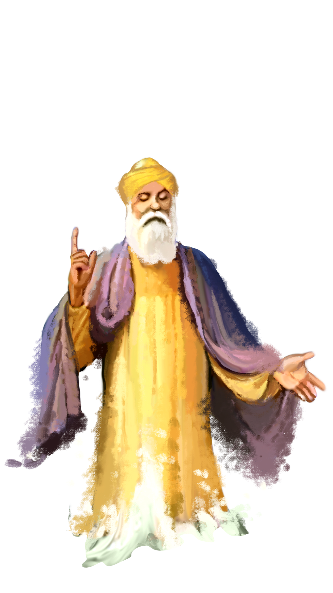 Guru Nanak Hd Wallpaper Guru Nanak Dev Ji Png Transparent Images Png All
