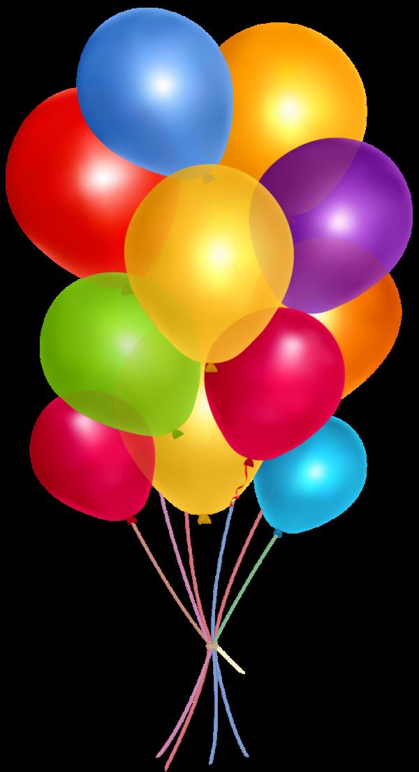 balloons transparent