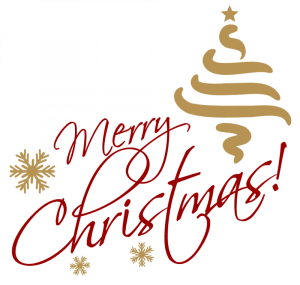 merry christmas text transparent