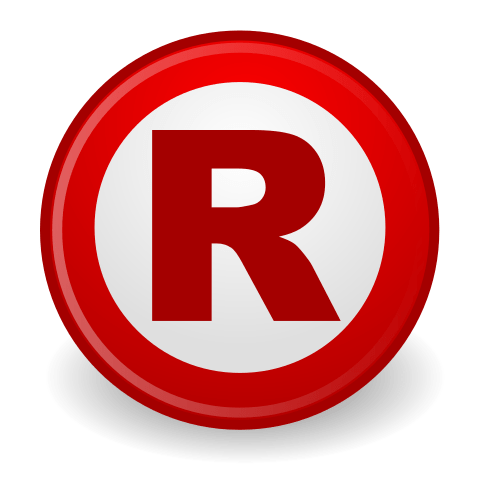 Copyright R Symbol Registered Trademark PNG Transparent
