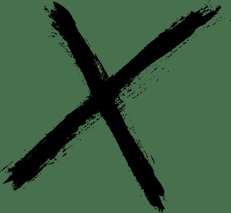 letter x png transparent