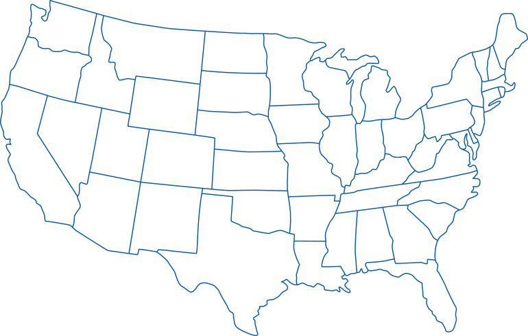 Use our free us map quiz to learn the locations of all the us states. United States Map Outline Png Image Png Arts