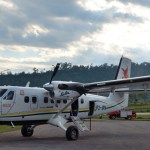 Twin Otter Aircraft at Tabubil Airport