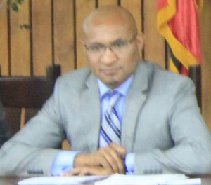 Plaintiff, Acting Secretary of Treasury, Dairi Vele