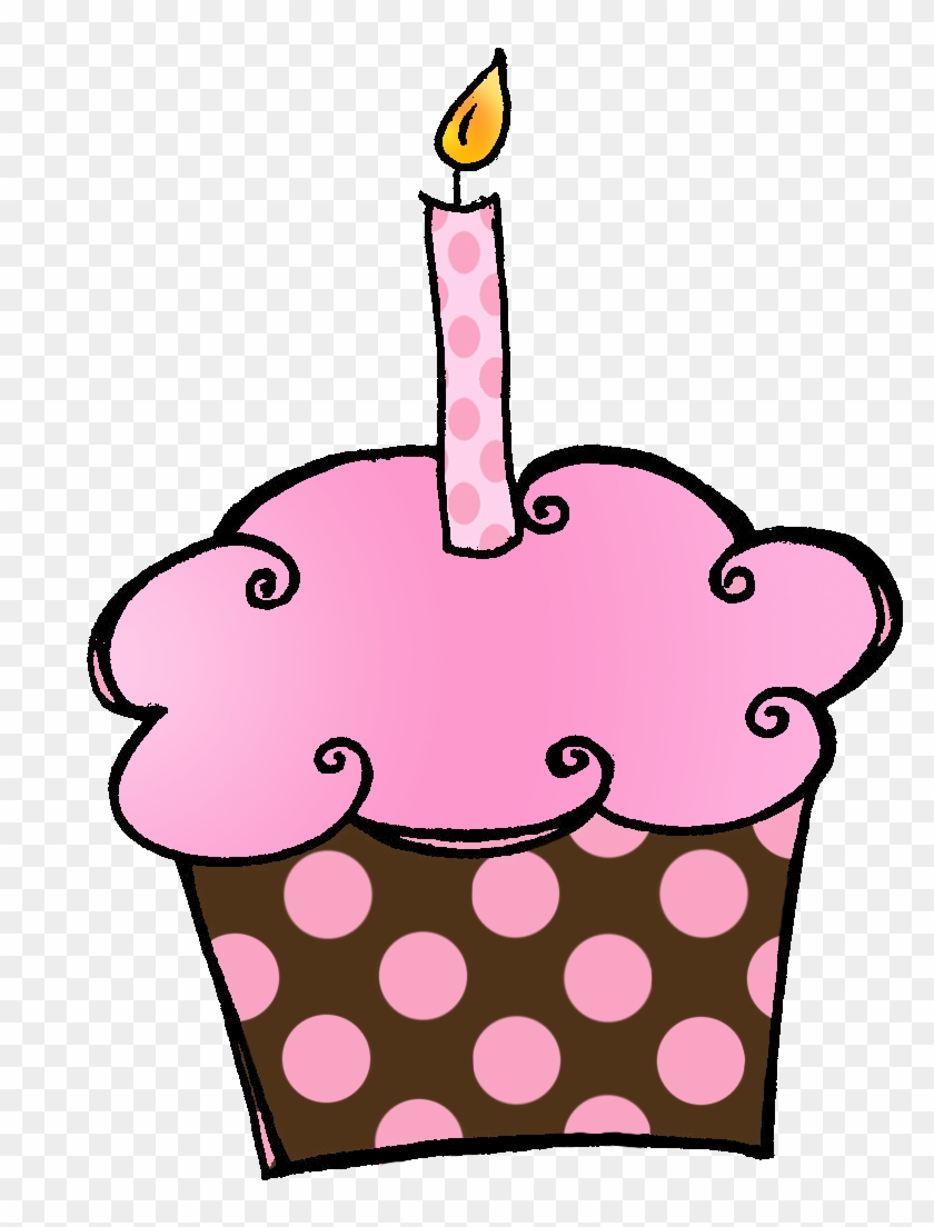Birthday Cupcake Clip Art Free Clipart Images Hello October