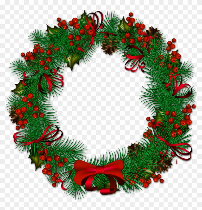 christmas wreath transparent png