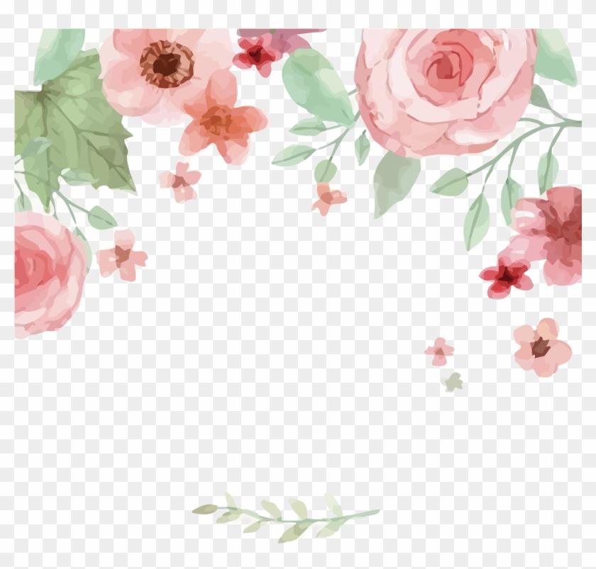 watercolor flower vector png