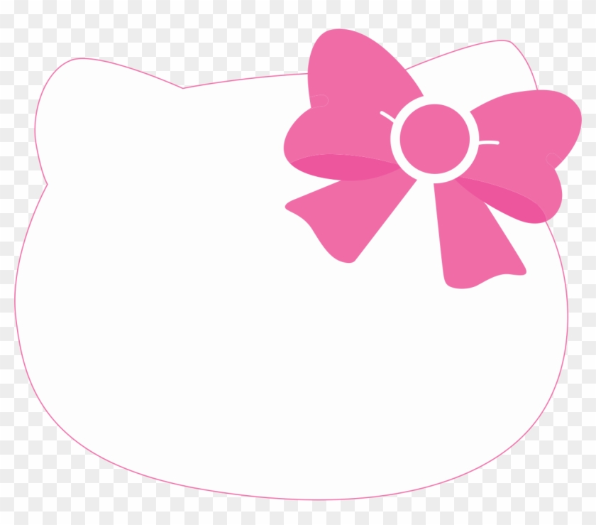 homey design pink bow clipart hello