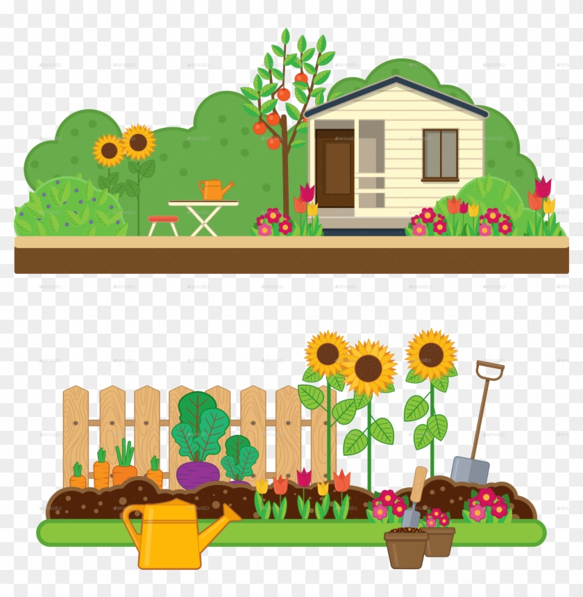 Gardening Set By Sabina S Garden Clipart Hd Png Download 2254x2200 1002647 Pngfind