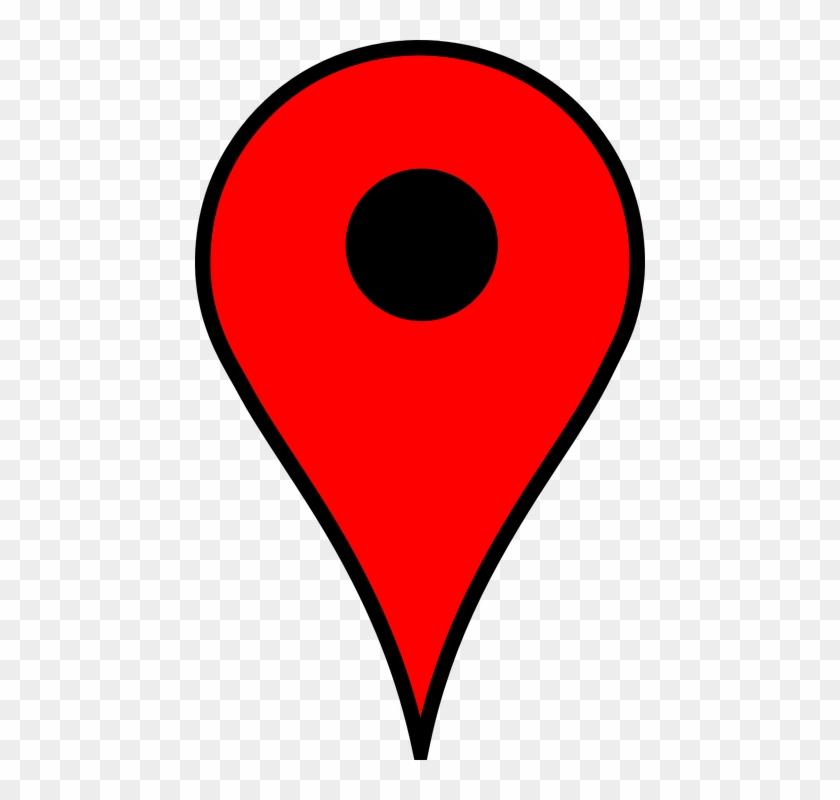 location poi pin marker