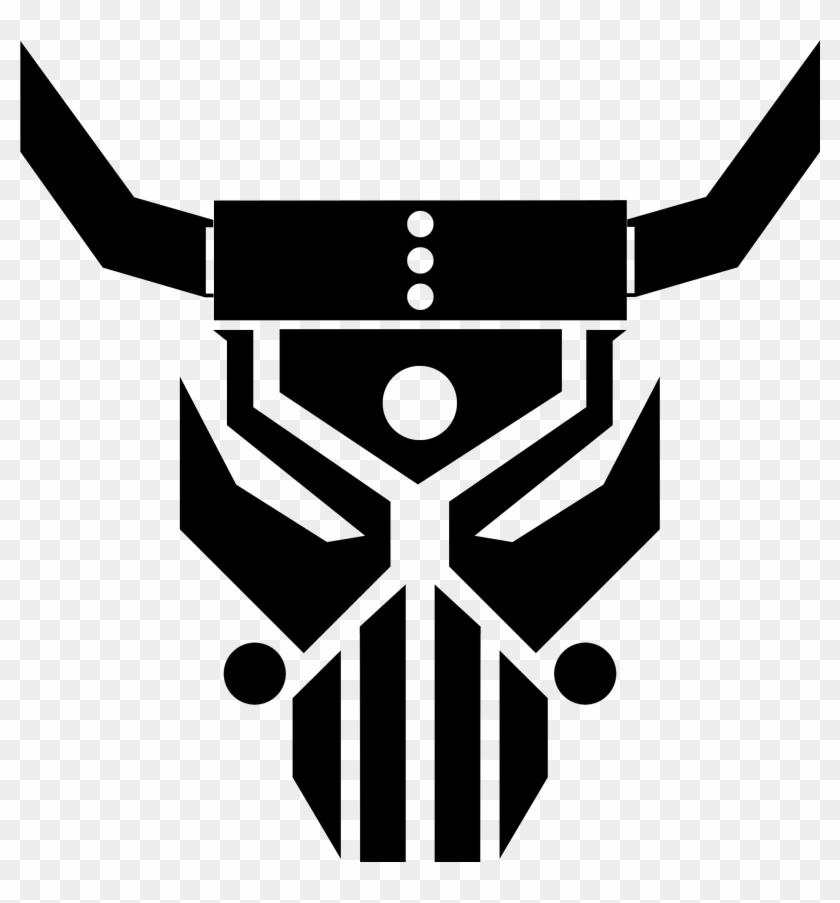logo graphic design skull