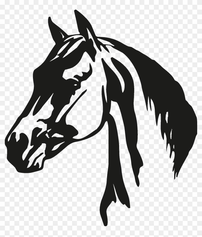 Horse Silhouette Horse Head Silhouette Pngs Transparent Png 1677x1892 1253431 Pngfind