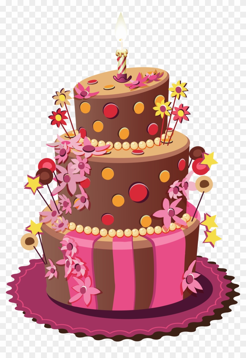Birthday Cake Png Clipart Image Birth Day Cake Png Transparent
